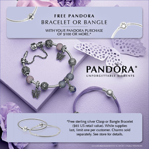 Pandora 2016 Promotions